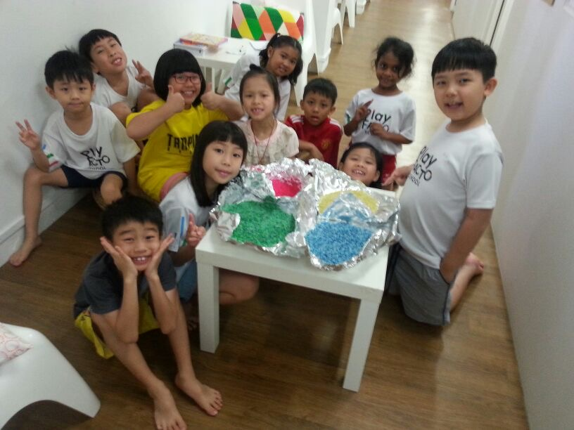 March Holiday programmes, east spring, rosyth, making rice art, activities for students