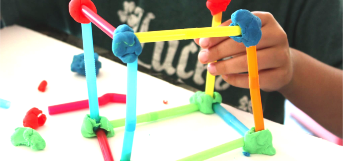 Geometry for kids, craft ideas for children