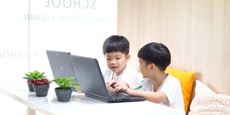 student care, spelling, homework support, e-learning, home-based learning